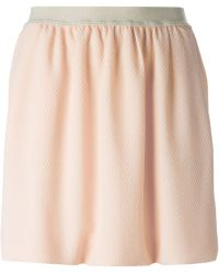 See By Chloé 'Cloque' Skirt - Lyst