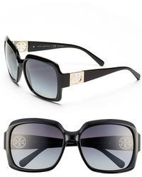 Tory Burch 59Mm Polarized Sunglasses - Lyst