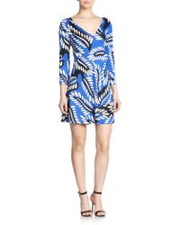 Diane von Furstenberg Kaden Silk Jersey Dress - Lyst