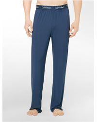 Calvin Klein Underwear Body Modal Pajama Pant blue - Lyst