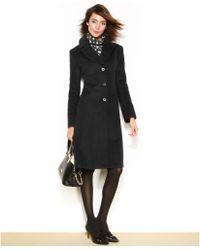 Jones New York Wool Walker Coat - Lyst
