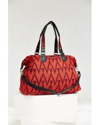 Ecote - Woven Texture Weekender Bag - Lyst