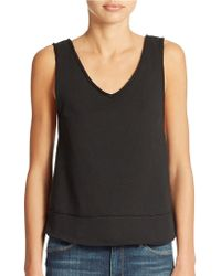 Free People Cropped Tank - Lyst