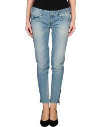 Calvin Klein Jeans Denim Pants - Lyst