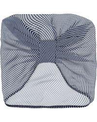 Anna Sui - Striped Chiffon Turban - Lyst
