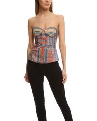 Camilla   Moulded Cup Corset   Lyst