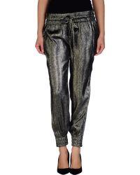 Gucci Black Casual Trouser - Lyst