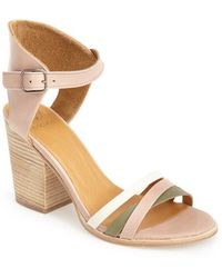 Coclico 'Cherry' Leather Ankle Strap Sandal - Lyst