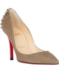 Christian Louboutin Spiked Zappa Pumps - Lyst