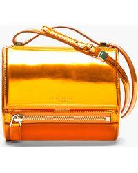 Givenchy Leather Pandora Box Mini Shoulder Bag - Lyst