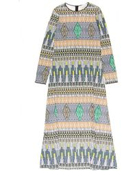 Giada Forte Ethnic Print Jersey Dress multicolor - Lyst