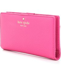 Kate Spade - Cobble Hill Stacy Wallet - Black - Lyst