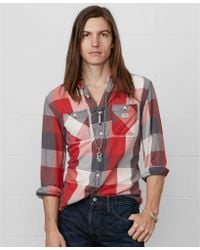 Denim & Supply Ralph Lauren Plaid Ward Shirt - Lyst