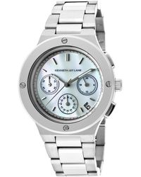 Kenneth Jay Lane - 2100 Series Chrono Stainless Steel Mop Dial - Lyst