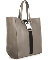 Christopher Kane Safety Buckle Leather Tote - Lyst