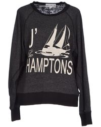 Wildfox Gray Sweatshirt - Lyst
