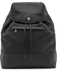Reiss | Bash Grained Leather Backpack | Lyst