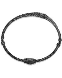David Yurman Petite Pavé Labyrinth Loop Bracelet With Diamonds - Lyst