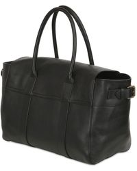 Mulberry - Bayswater Buckled Leather Top Handle Bag - Lyst