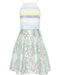 Coast Piaggi Sequin Dress multicolor - Lyst