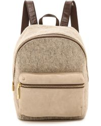 Elizabeth And James Wool Cynnie Backpack - Smoke - Lyst