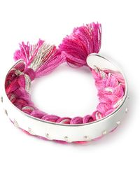 Aurelie Bidermann Copacabana Bracelet - Lyst