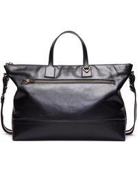 Bally | Tsp Novo Leather Weekender Bag | Lyst