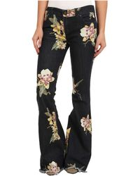 Free People Floral Bali Flare in Miami Night Combo - Lyst