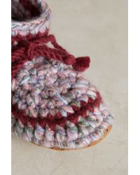 Ariana Bohling - Knit Booties - Lyst