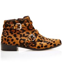 Tabitha Simmons Windle In Leopard Haircalf - Lyst