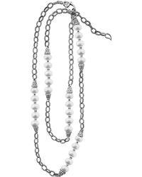 Lagos Luna Pearl Necklace - Lyst