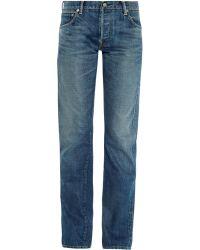 Visvim - Social Sculpture Straight-leg Jeans - Lyst