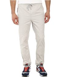 Calvin Klein Jeans Snappy Poplin Travel Pant - Lyst