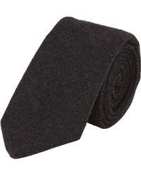 Ralph Lauren Black Label Twill Tweed Neck Tie - Lyst