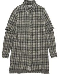 Public School - Plaid Shirtdress - Lyst