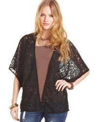 American Rag - Shortsleeve Lace Bed Jacket - Lyst