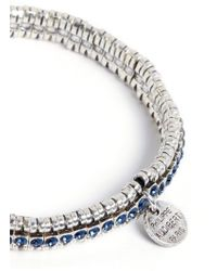 Philippe Audibert 'New Broome' Crystal Elastic Bracelet - Lyst