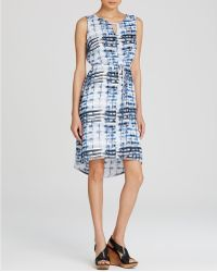 Lyssé - Lyssé Vista Printed High Low Dress - Lyst