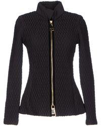 Emporio Armani Jacket black - Lyst