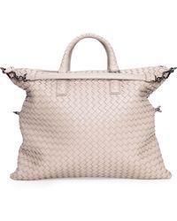 Bottega Veneta Medium Convertible Woven Tote Bag - Lyst