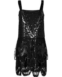 Anna Sui Sequin Embellished Dress - Lyst