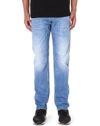 Diesel Belther Regular-fit Tapered Jeans L32 - Lyst