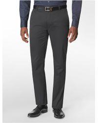 Calvin Klein Straight Fit Grindle Pattern Suit Pants - Lyst