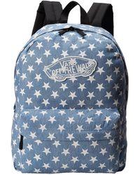 Vans Blue Realm Backpack - Lyst