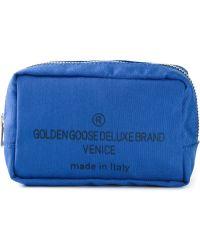 Golden Goose Deluxe Brand - Logo Print Make-up Bag - Lyst