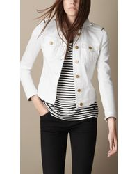 burberry official outlet wsha  burberry white denim jacket burberry white denim jacket