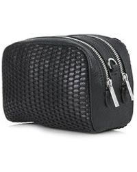 Topshop Sporty Mesh Crossbody Bag - Lyst