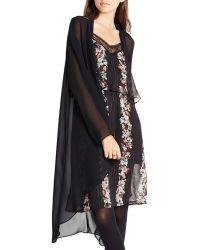 BCBGeneration - Sheer Kimono - Lyst