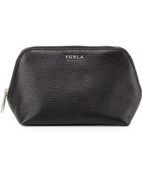 Furla Pigalle Leather Cosmetic Case - Lyst