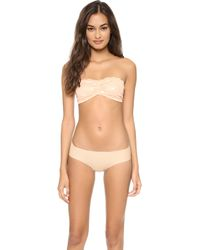 Free People Essential Lace Bandeau Bra  - Lyst